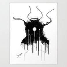 Bioshock Evolve Suit Design FanArt Art Print