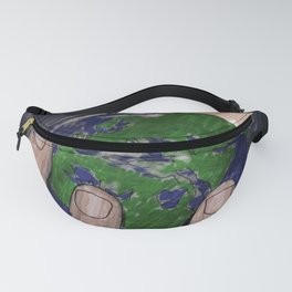 Death of a Small Planet Fanny Pack
