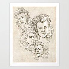 Harries Art Print