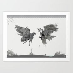 Battle for the Tree of Life Art Print