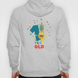 One Year old first Birthday Party T-Shirt Dpuo7 Hoody