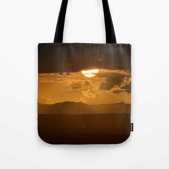 The sun after the storm Tote Bag