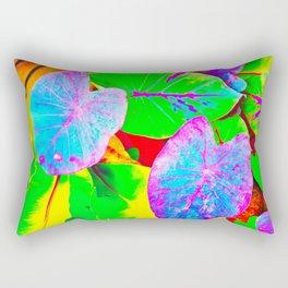 Rainbow Kalo Rectangular Pillow