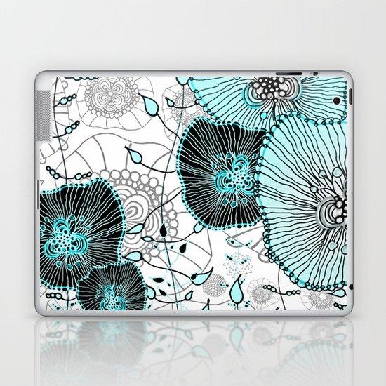MYSTIC GARDEN MINT Laptop & iPad Skin