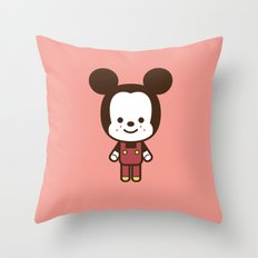#49 Mouse Throw Pillow