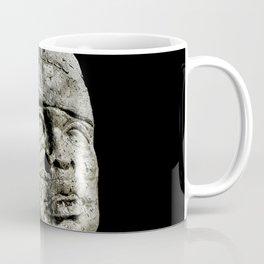 Mexican Pre Hispanic Head Sculpture Poster Coffee Mug