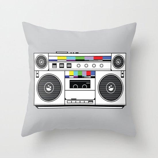 1 kHz #4 Throw Pillow