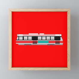 Toronto TTC Streetcar Framed Mini Art Print
