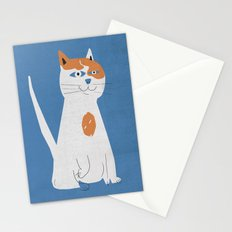 Sam the cat Stationery Cards