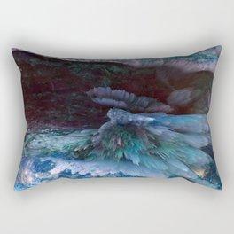 blue ice Rectangular Pillow