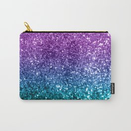 Unicorn Girls Glitter #10 #shiny #decor #art #society6 Carry-All Pouch