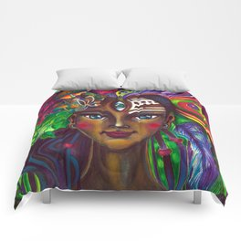 Native Girl Comforters