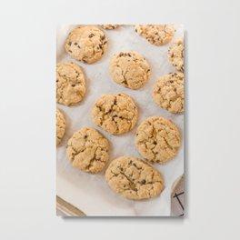 Baking Cookies Metal Print