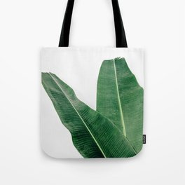 Tropical Banana Leaf Pair Tote Bag