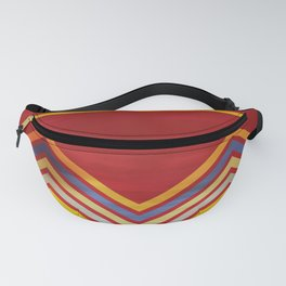 Stripes and Chevrons Ethic Pattern Fanny Pack