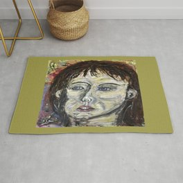 A LATENT SMIRK Rug