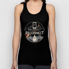 Reconnect... Unisex Tank Top
