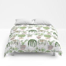 Watercolor . Plants . Comforters