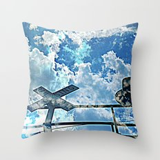 A Place In The Clouds Throw Pillow