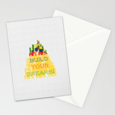 Build your dreams! Stationery Cards