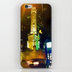 Windy City Impression iPhone & iPod Skin