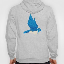 Origami Bluebird Hoody