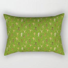Dancing Nudes Rectangular Pillow