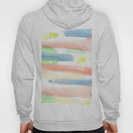 180527 Abstract Watercolour 12  | Watercolor Brush Strokes Hoody