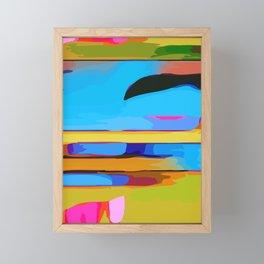 Radient #4 Framed Mini Art Print