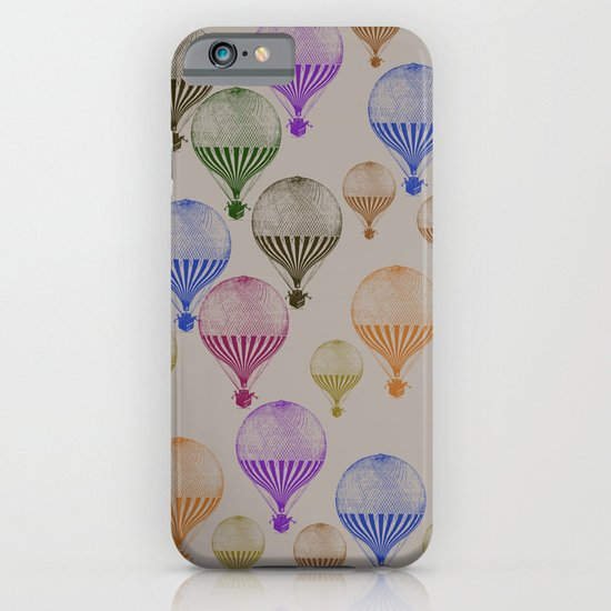 Colorful Hot Air Balloons iPhone & iPod Case