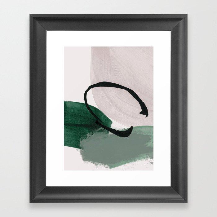 minimalist painting 01 Gerahmter Kunstdruck