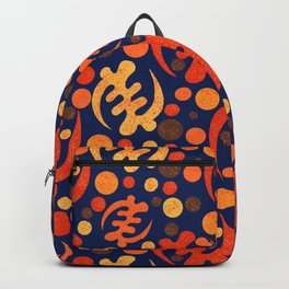 Gye Nyame- retro design Backpack