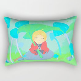 umbrella leaf Rectangular Pillow