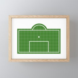 Football Penalty Area Framed Mini Art Print