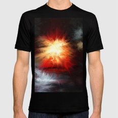 Magical Mystery MEDIUM Mens Fitted Tee Black