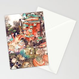 Spirited Away Stationery Cards