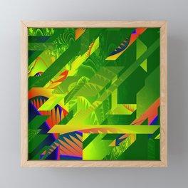 Great Green Frac 1 Framed Mini Art Print