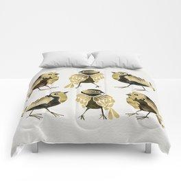 24-Karat Goldfinches Comforters