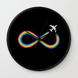 Unlimited Traveling Wall Clock