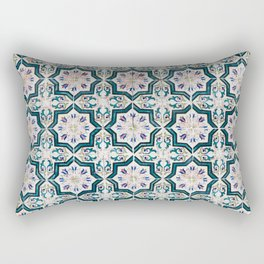 Portuguese Tiles Rectangular Pillow