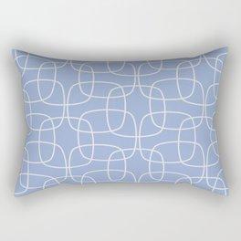 Square Pattern Serenity Rectangular Pillow