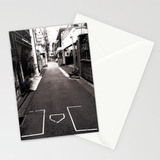 Best alley in Tokyo. Stationery Cards