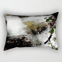 Cascades on Fall Creek in the Weminuche Wilderness, No. 2 of 2 Rectangular Pillow