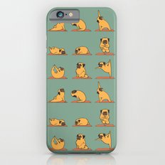 Pug Yoga iPhone 6 Slim Case