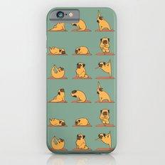Pug Yoga Slim Case iPhone 6