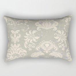 wax batik nuetral Rectangular Pillow
