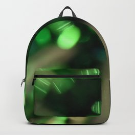 Green Sparkle Burst Backpack