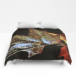 Fall Leaf Abtract Comforters