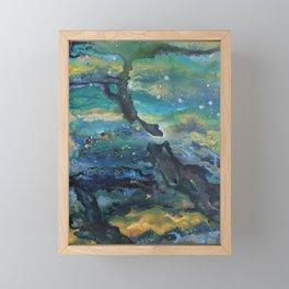Epoch Triptych 1 Framed Mini Art Print