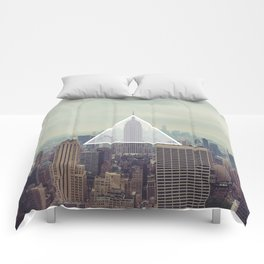New York Triangle Comforters